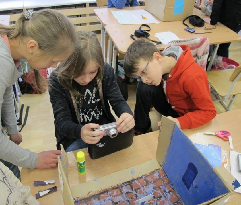 Moksleiviai kuria animacinį istorinį serialą