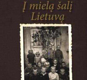 """R.Raceno knygos """"I mielą šalį Lietuvą"""" viršelio dalis"""