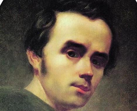 Ukrainietis Tarasas Ševčenka (1814-1861)