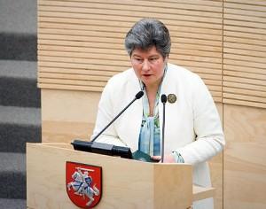 Birutė Valionytė | lrs.lt, O.Posaškovos nuotr.