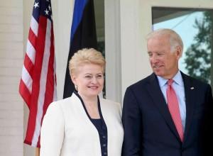 Dalia Grybauskaitė ir Džozefas Baidenas | lrp.lt nuotr.