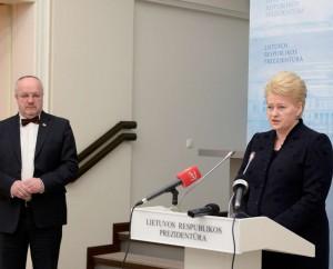 J.Olekas ir D.Grybauskaitė | lrp.lt, R.Dačkaus nuotr.