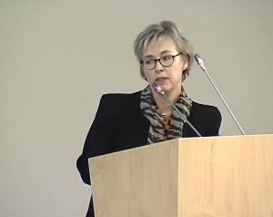 Danų kalbos tarybos pirmininkė Sabina Kišmejer–Andersen (Sabine Kirchmeier–Andersen) | Alkas.lt nuotr.