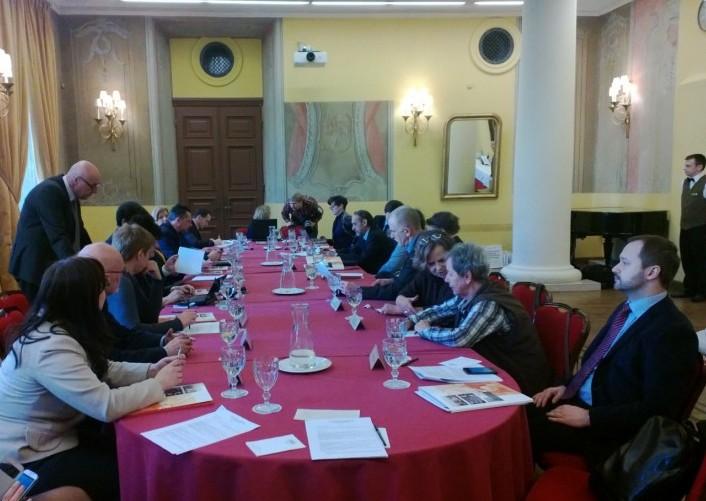 Susitiko Lietuvos ir Lenkijos paveldo ekspertai | lrkm. nuotr.