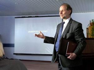EKGT pirmininkas Virginijus Jocys | Alkas.lt, J.Vaiškūno nuotr.