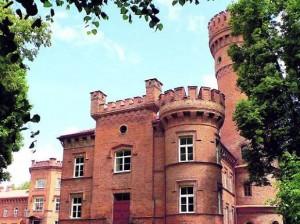 Raudonės pilyje veikia Raudonės miestelio pagrindinė mokykla | VL archyvo nuotr.