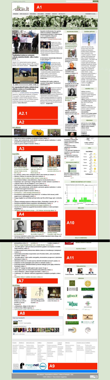 Reklama tituliniame puslapyje