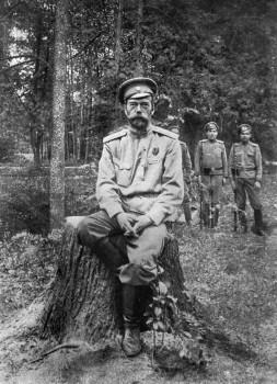 Viena paskutiniųjų Nikolajaus II nuotraukų, padaryta jo tremties Tobolske metu | Wikipedia.org nuotrauka