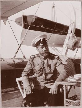 Nikolajus II savo jachtos denyje | p-beseda.ru nuotrauka