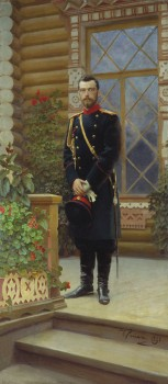 Imperatorius Nikolajus II | Dail. Ilja Repninas, 1896 m.
