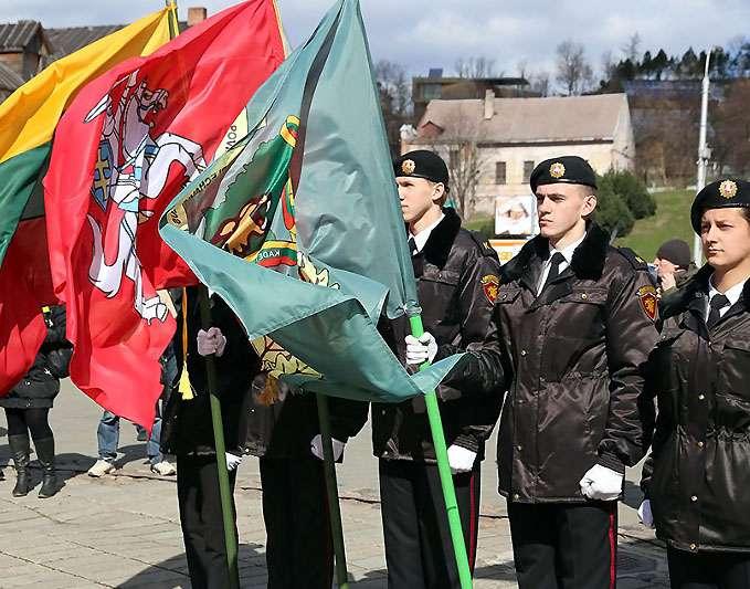 Iškilmingai prisiekė Generolo P. Plechavičiaus mokyklos kadetai   kaunas.lt nuotr.