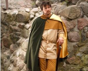 XII-XIV a. viduramžių drabužiai | LLKC nuotr.