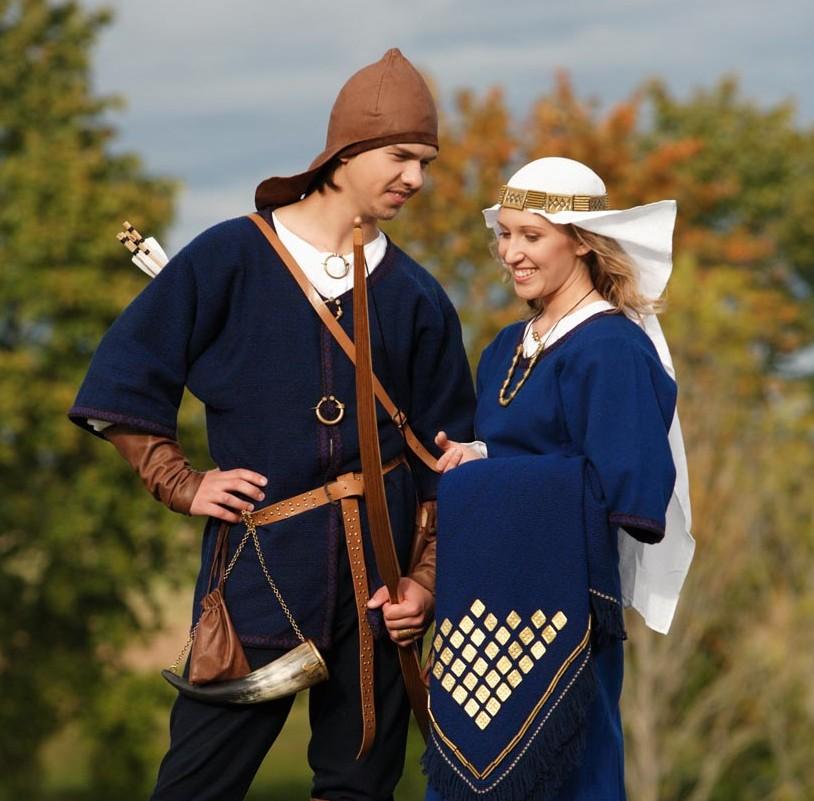 9–12 a. archeologiniai drabužiai | LLKC nuotr.