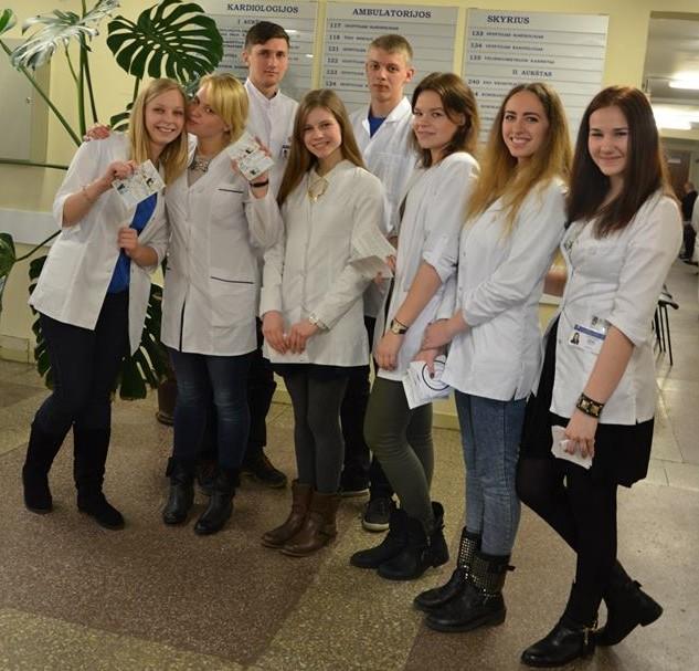 Lietuvos medicinos studentų asociacija (LiMSA) | facebook.com nuotr.