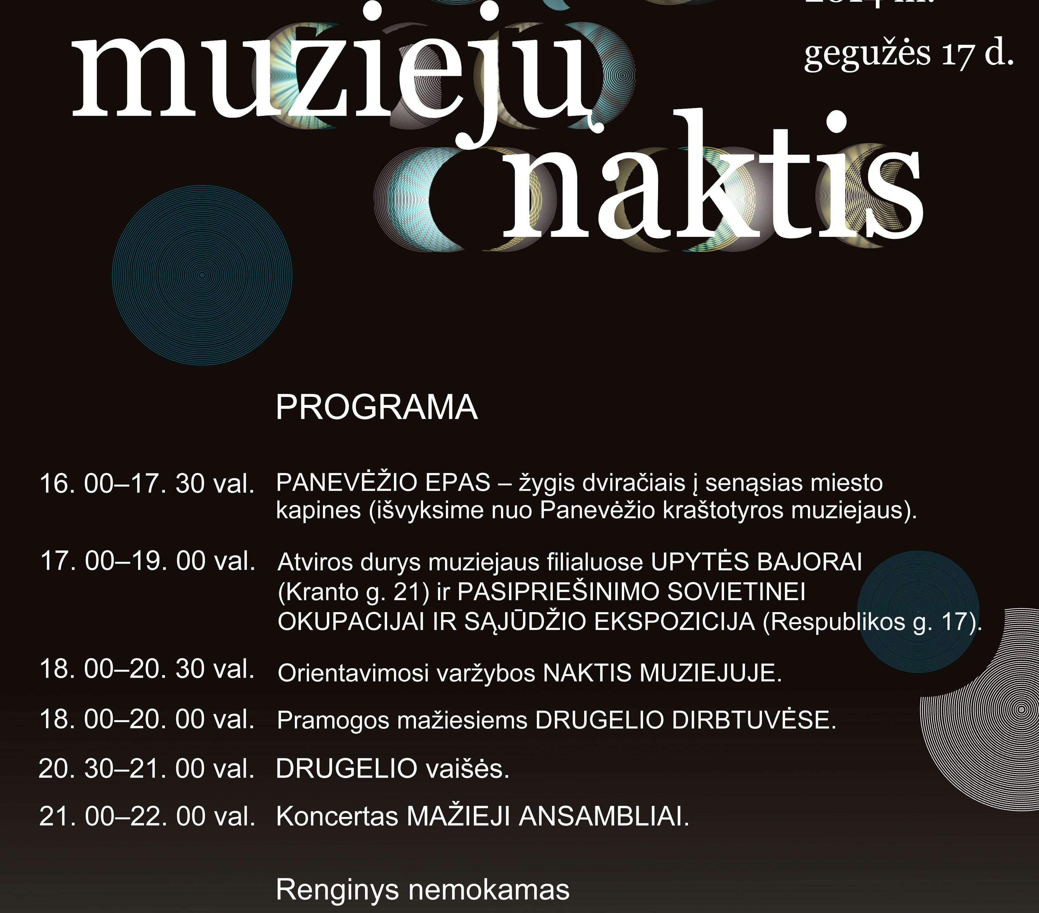 Muzieju naktis Panevezyje