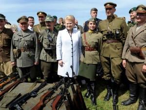 Dalia Grybauskaitė Kariuomenės ir visuomenės vienybės šventėje | lrp.lt, A.Pliadžio nuotr.