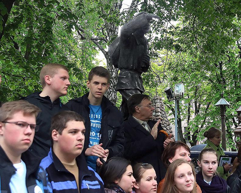 Kauno jaunimas nusilenkė knygnešiams   kaunas.lt nuotr.