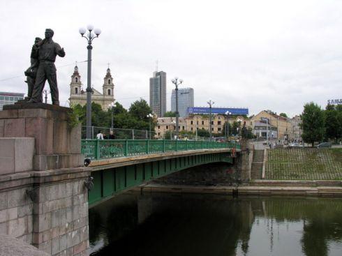 Žaliasis tiltas | vilniausgidas.lt, lrkm.lt nuotr.