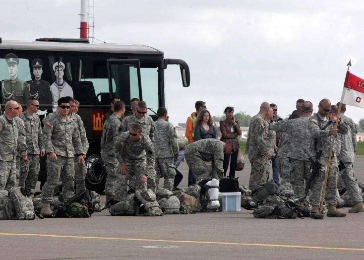 JAV kariai Lietuvoje | kam.lt nuotr.