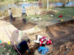 Archeologiniai kasinėjimai Biržuose | selonija.lt, E.Mikelionienės nuotr.
