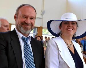 Dalius Stancikas su žmona Aurelija | asmeninė nuotr.
