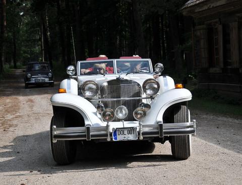 Istorinių automobilių ralis | A. Brazaičio nuotr.