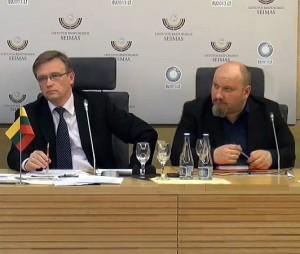 Zigmas Vaišvila ir Julius Panka | Alkas.lt nuotr.