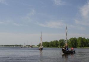Laivų vilkstinė Nemuno deltoje   Nemuno deltos regioninio parko direkcijos nuotr.