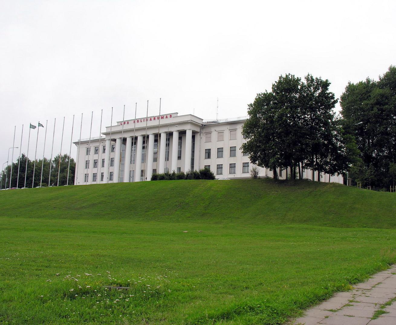 Buvę Profsąjungų rūmai ant Tauro kalno Vilniuje | wikimedia.org nuotr.