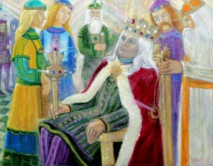 Vytauto Didžiojo karūnavimas, Birutė Jočiūnaitė–Cvirkienė