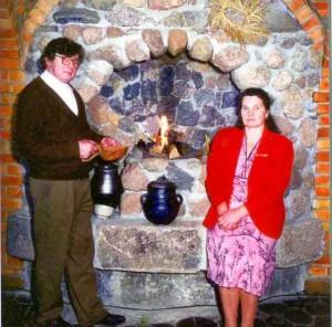 Adolfas Gedvilas su žmona Magdute Gedviliene | asmeninė nuotr.
