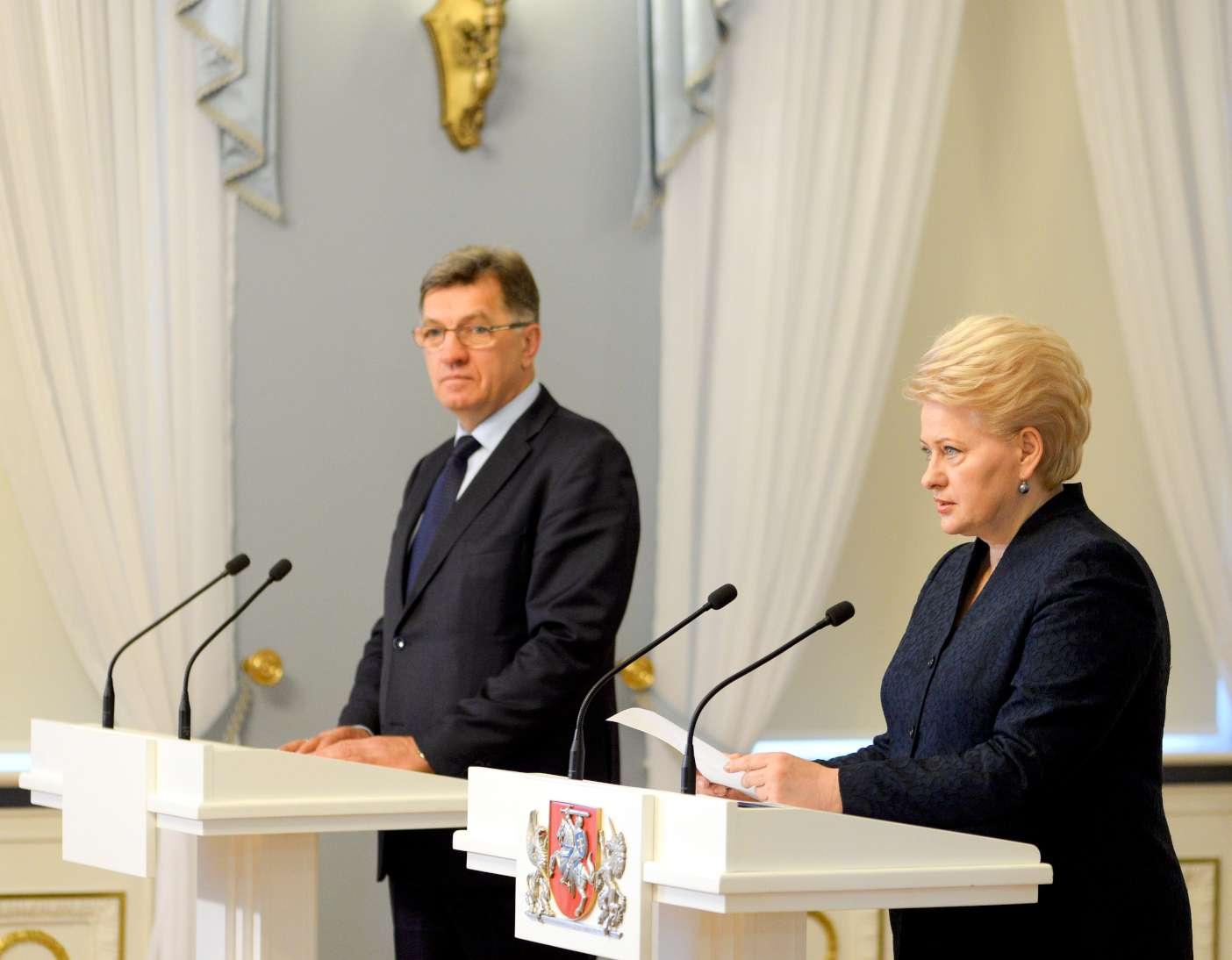 Algirdas Butkevičius ir Dalia Grybauskaitė | lrp.lt, R.Dačkaus nuotr.
