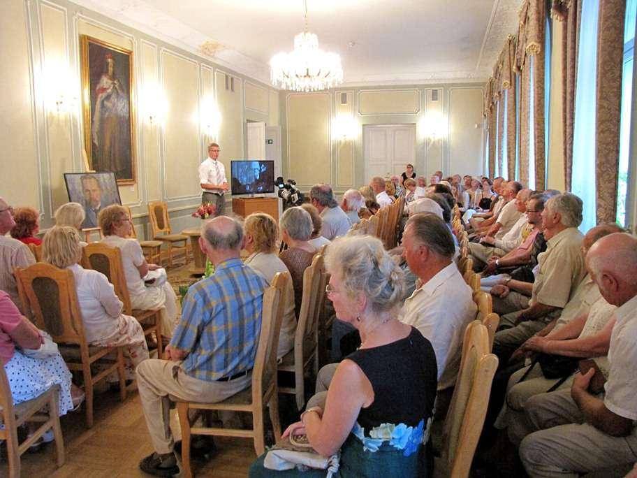 Prezidentui A.Smetonai skirtos parodos atidarymas Istorinėje Prezidentūroje, kaune | kaunas.lt nuotr.