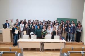 Akimirka iš lietuvių kalbos ir kultūros vasaros kursų uždarymo LEU