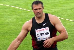 Alekna 2011 m. Deimantinės lygos varžybose | wikipedia.lt nuotr.