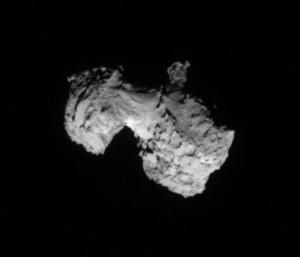 67/P/Čuriumovo-Gerasimenko kometa. ESA nuotr.