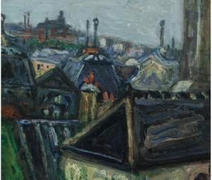 Arbit Blatas. Miesto vaizdas (Paryžius)