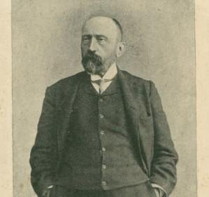 Martyno Kuktos spaustuvėje M. Dovoinos-Silvestravičiaus išleistas atvirukas. Apie 1908 m.  | Iš V.Girininkienės asmen. archyvo