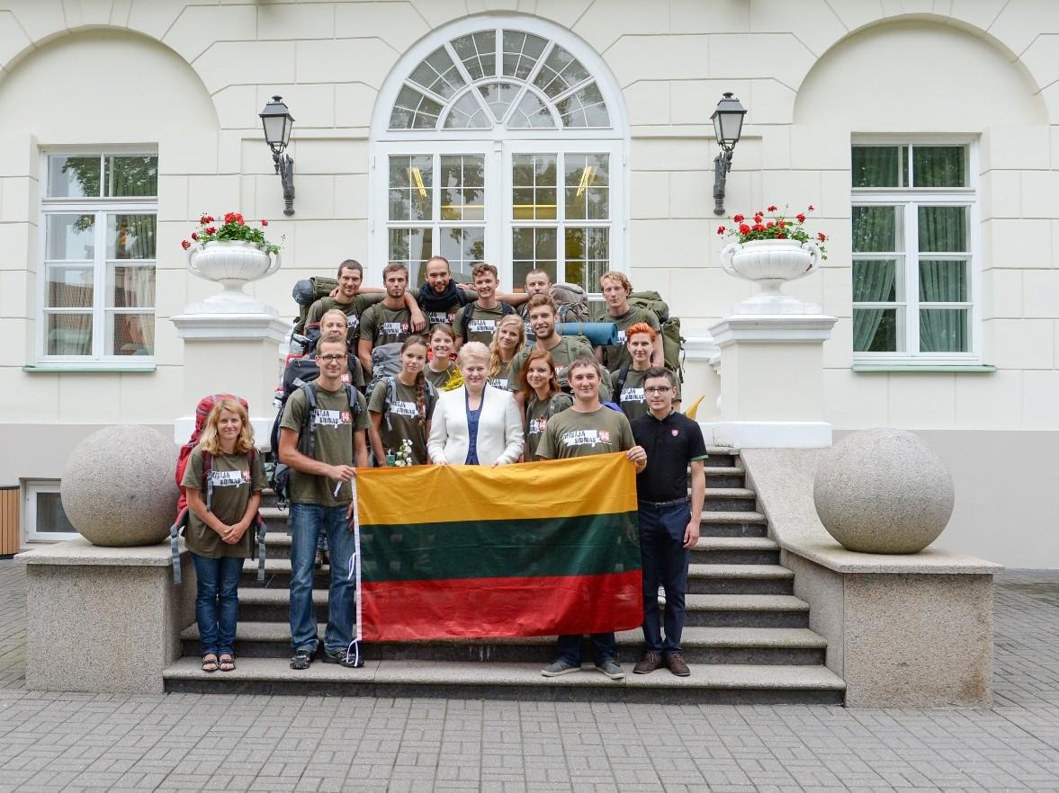 """Misija Sibiras' 2014"" prezidentūroje | president.lt nuotr."