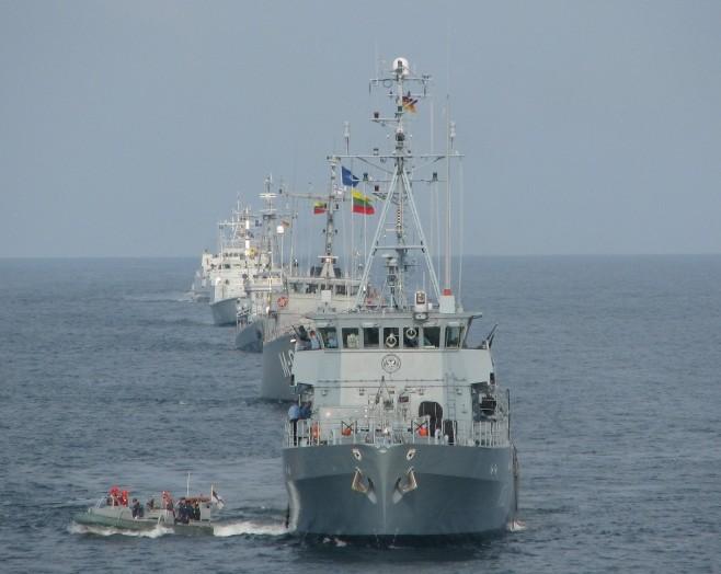 NATO kariuomenės karinių jūrų pajėgos | kam.lt nuotr.