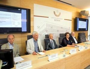 Gotlando komunikato pasirašymo minėjimas Seime | lrs.lt, O. Posaškovos nuotr.