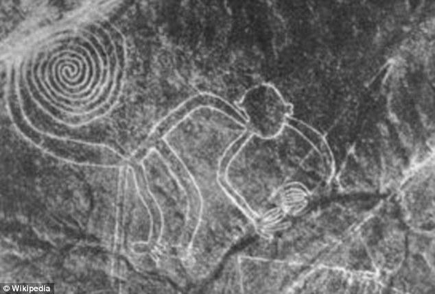 Bezdžionės geoglifas | Wikipedia.org nuotr.