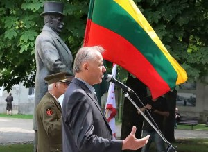 Prezidento A. Smetonos 140-ųjų metinių minėjime kalba dr. Romas Batūra | kaunas.lt nuotr.