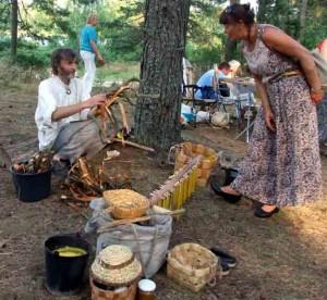 """Dzūkijoje nuaidėjo tarptautinis folkloro festivalis """"Subatėlės vakarėly...""""   varena.lt nuotr."""