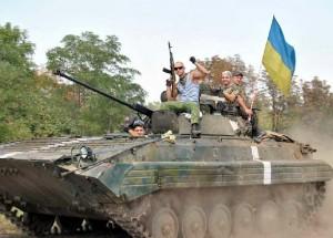 Ukrainos karinių pajėgų kariai | ATO spaudos centro nuotr.