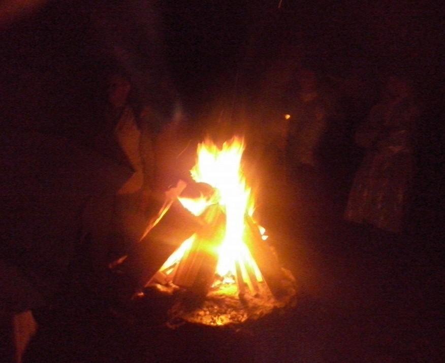 Uždegta Baltų vienybės ugnis Lizdeikos šventykloje | T.Baranausko nuotr.