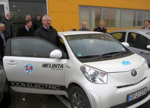 """Elintos"" pagamintas elektromobilis | krs.lt nuotr."
