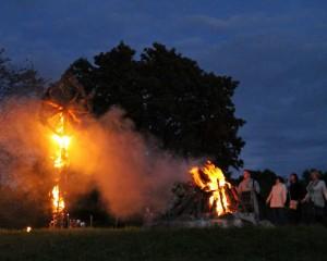 Pagramančio piliakalnis švytėjo baltus vienijančia ugnimi | rengėjų nuotr.