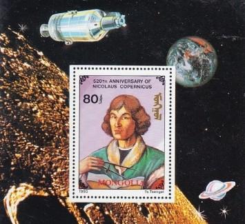 Kosmosas pašto ženkluose | post.lt nuotr.