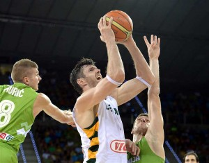 Lietuva – Slovenija | FIBA nuotr.